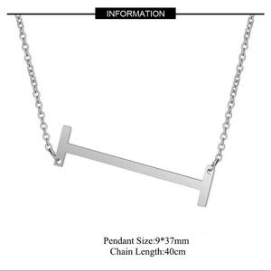 """Jewelry - NEW!! 🌟 Initial """"I"""" Pendant Necklace"""